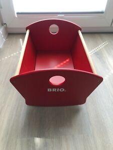 BRIO 30555 - Puppenwiege Holz