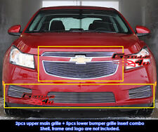 Fits Chevy Cruze LT/LTZ RS Pakage Billet Grill Combo 2011-2014