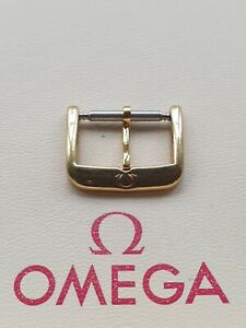 Vintage Omega Gold Plated 16mm Buckle - Part No. 94501601 - RARE BUCKLE!