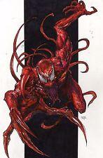 Marvel Comics CARNAGE by Jomar Bulda Original Art 11x17, Spider-man, Venom