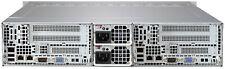 Supermicro 2 Node FAT Twin 12 Bay Server 4x Xeon E5-2630L V2 6 Core 32GB Rail 2P