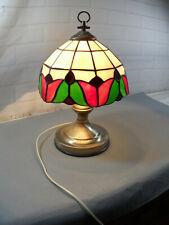 Estilo Tiffany Lámpara De Mesa -- toque luz -- 15 pulgadas de alto