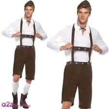 Disfraces de hombre en color principal blanco talla XL de poliéster