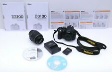 Nikon D3100 14.2MP DSLR Camera Kit w/ AF-S DX VR 18-55mm Lens (Shutter: 2336)