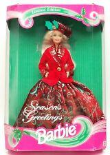1994 Limited Edition Seasons Greetings Barbie No.12384 NRFB