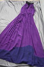 Next S 36 kleid wie neu Bodenlang sommerkleid lila schwarz Abendkleid