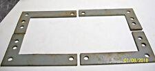 Set Of 4 Industrial Grey Steel Corner Brace'S, For Box - Door - Cupboard - Other