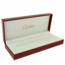 CARTIER STYLO LOUIS PENS RED BOX, MANUAL+CERTIFICAT DE GARANTIE - BOX REF. 0020