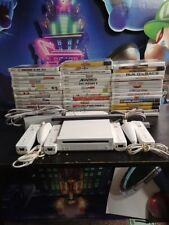 Nintendo Wii Console 2 Or 4 sets of remotes 3 Games Ships Same Day Gamecube