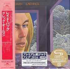GREGG ALLMAN-LAID BACK-JAPAN MINI LP SHM-CD Ltd/Ed G00
