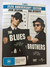 THE BLUES BROTHERS 25TH Anniversary Edition R4 DVD Free Post