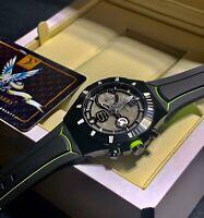 Franck Dubarry Watch Intrepidus REV0308 Chronograph Diver Watch SWISS Limited Ed
