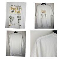 Pugs Crawl 2004 Pugs At The Pub Pugs Graphic Cotton T Shirt