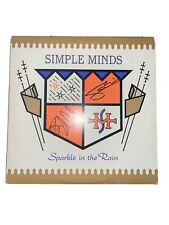 """SIMPLE MINDS signed autographed """"SPARKLE IN THE RAIN"""" LP RECORD"""