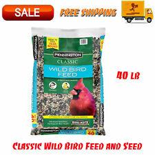 New listing Pennington Classic Wild Bird Feed & Seed, 40 lb, Attracts A Variety Of Wild Bird