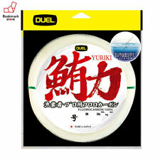NEW Duel Yuriki 100m 60lb #18 Clear 0.700mm Fluorocarbon Big Game Tuna Line JPN
