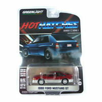 Greenlight 47080-C Ford MUSTANG Gt Red/Silver - Hot Hatches Scale 1:64 MUSTANG