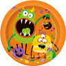 Halloween Kid's Little Monsters Party Tableware Tablecover Plates Cups Napkins