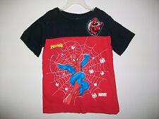 Boys Size 5/6 SPIDER-MAN 100% Cotton Short Sleeve Top
