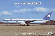 LTE Boeing B757-200 Airline Airplane Postcard