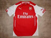 Puma Trikot FC Arsenal London Home 2014/15 Gr. S rot weiss Heimtrikot Jersey