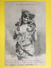 cpa 1900 Phot. BERGERET & Cie NANCY 13 Fêtes et Porte Bonheur à René MESNARD