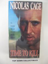 Time To Kill  Nicolas Cage,  Giancarlo  Giannini VHS Movie  Unopened
