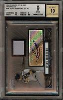 2008 Bowman Sterling Jesus Montero Rookie RC Jersey BGS 9 Autograph 10 Auto 11