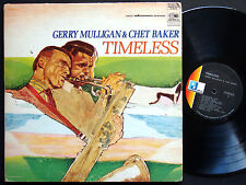 GERRY MULLIGAN & CHET BAKER Timeless LP WORLD PACIFIC JAZZ ST-20146 US 1968 ST