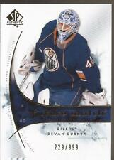 DEVAN DUBNYK 2009-10 SP Authentic Future Watch Rookie #229/999 Oilers Edmonton
