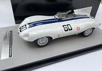 JAGUAR D TYPE race car Watkins Glen Winner 1955 Johnston 1:18 Tecnomodel 18-157B
