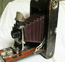 VINTAGE EARLY 1900s KODAK NO 3-A FOLDING POCKET KODAK MODEL B-2 CAMERA