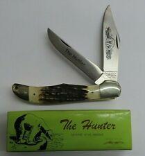 """PARKER CUT """"THE HUNTER"""" LARGE TWO BLADE POCKET KNIFE - LOCK BACK"""