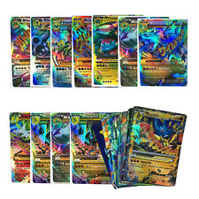 Pokemon MEGA Card All EX GX Holo Flash CARD Album Portfolio Folder Binder Toys