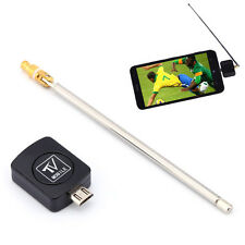 Mini USB DVB-T Dongle Receiver HD Digital TV Tuner Stick For Android Phones R4UP