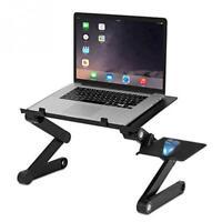 Portable Adjustable Aluminum Laptop Desk Ergonomic Sofa Bed Laptop Tray PC Table