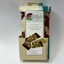 Creative Cuts Table Runner & 4 Placemat Kit, New
