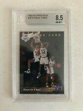 1992-93 Upper Deck Basketball #1b Shaquille O'Neal Rookie Trade Card 8.5 NM-MT+
