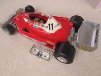 1972 Polistil 1:6 Ferrari 312 T2 race car Toschi collectible N.Lauda made Italy