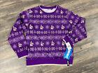 FORTNITE Loot LLAMA Print Long Sleeve Ugly Christmas Sweater Top Boys 14/16 NWT