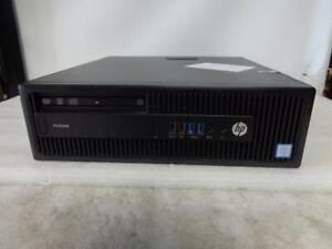 HP Prodesk 600 G2.5 Core i3-6100 3.70GHZ 4GB 500 GB HDD DVD+RW (S28D)