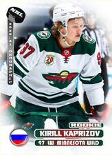 Kirill Kaprizov 2021 HH cards NHL Geographic Wild #1RC 9/17 Russia RC