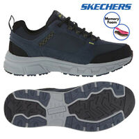 Skechers Mens Relaxed Fit Oak Canyon Sports Running Memory Foam Lace Up Trainers