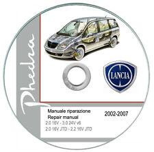 Lancia Phedra (2002-2007) Workshop Manual - Repair Manual