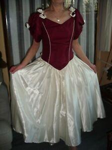 Kleid Gr.38 Brautkleid Rosen Ballkleid Hochzeitskleid einzigartig