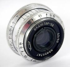 Soviet Lens INDUSTAR 50 3,5/50 M39 SLR USSR Good Condition