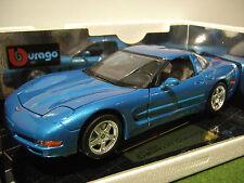 CHEVROLET CORVETTE 1997 Coupé 1/18 BURAGO 3356 voiture miniature de collection