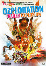 Ozploitation Trailer Explosion (DVD, 2014) NEW Road Games Dead End Drive-In ++