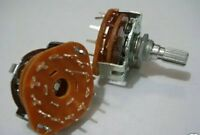 4X Rotary Switch Potentiometer 1 Pole 12 Position for Guitar effect/Audio,12P ay
