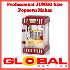 NEW 4.5LTR CLASSIC SERIES JUMBO SIZE PROFESSIONAL POPCORN MAKER MACHINE RPP$199
